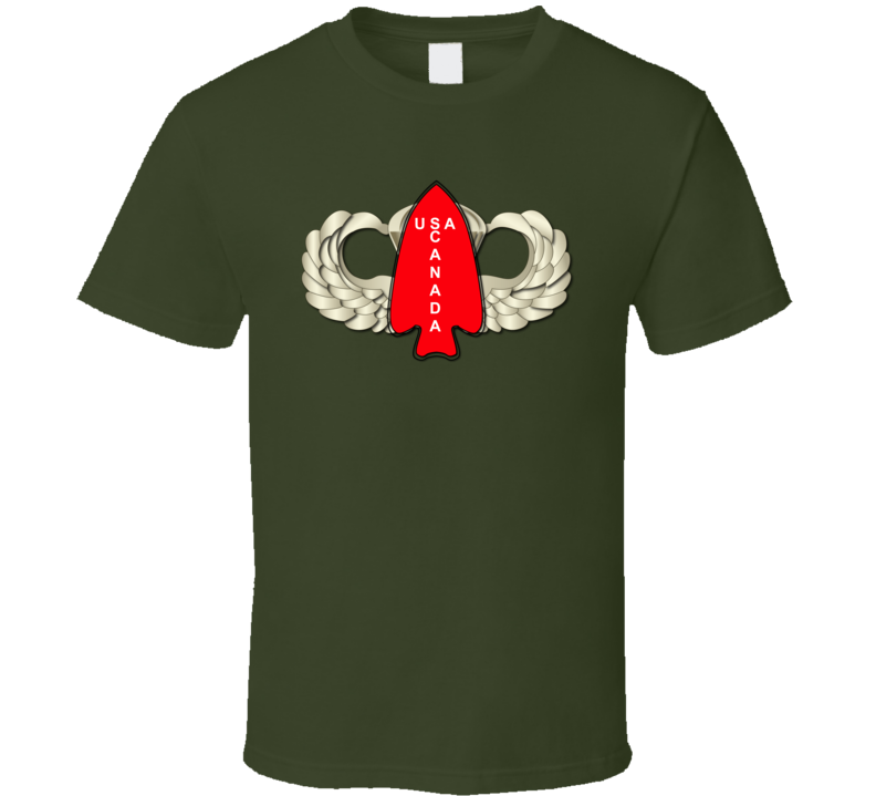 1st Special Service Force - Wings T Shirt