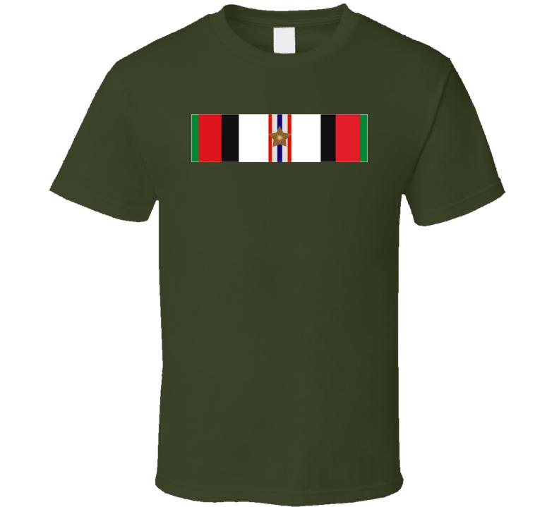 Afghanistan  Service Ribbon T Shirt