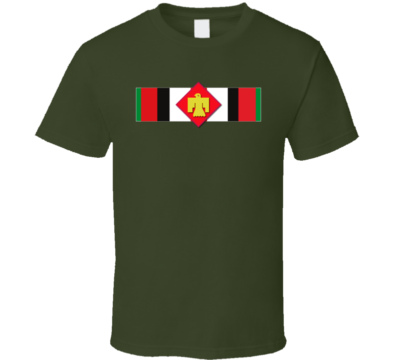 Afghanistan  Service Ribbon - 45th Infantry Brigade Combat Team T Shirt