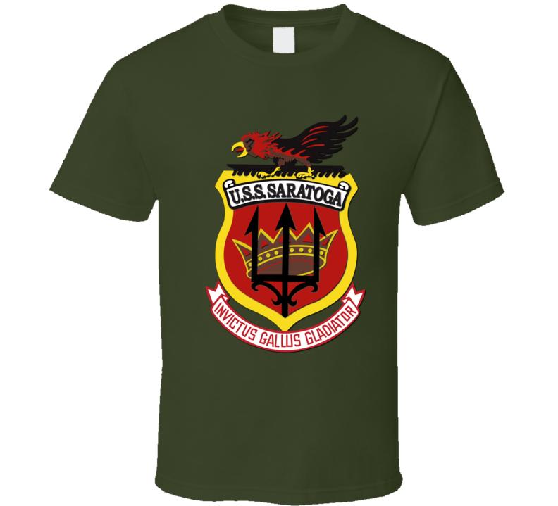 USS Saratoga T Shirt