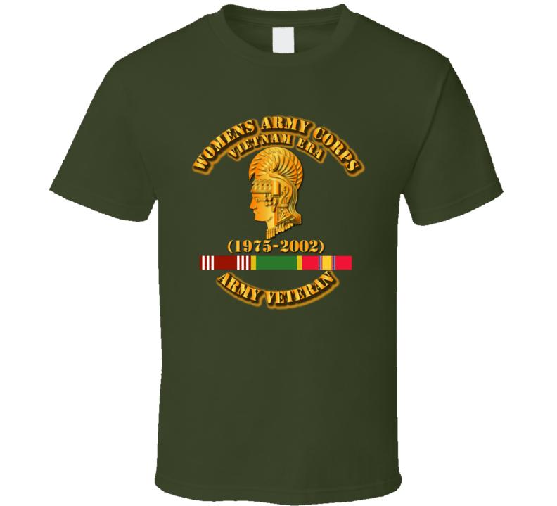 Womens Army Corps Vietnam Era - w GCMDL-NDSM - WAC - 1975-2002 T Shirt