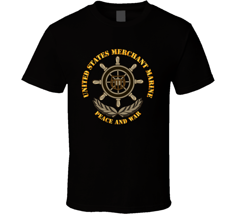 USMM - Peace and War T Shirt