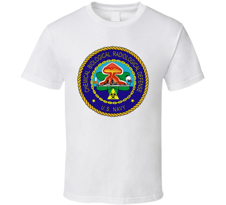USA NAVY - Chemical, Biological, Radiological Defense - T shirt