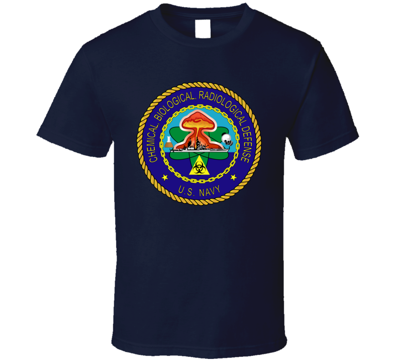 USA NAVY - Chemical, Biological, Radiological Defense - T shirt