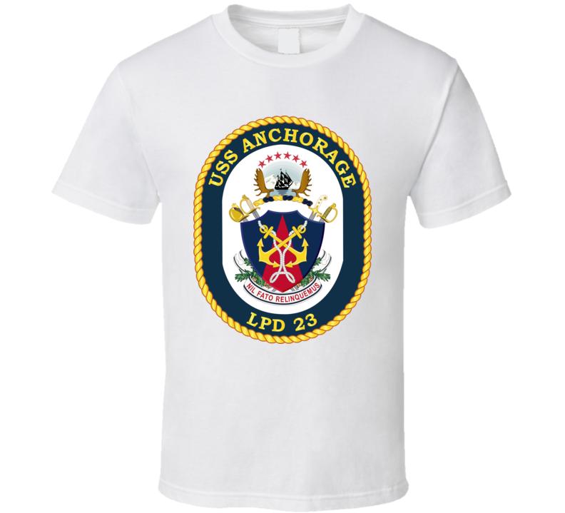 USS - Anchorage - LPD 23 T Shirt