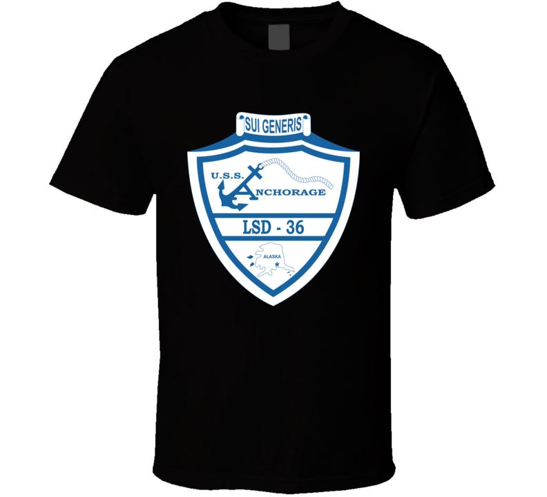 USS - Anchorage (LSD-36) T Shirt