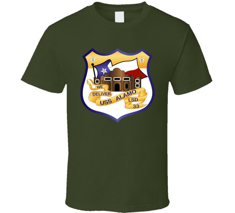 USS Alamo (LSD-33) T Shirt