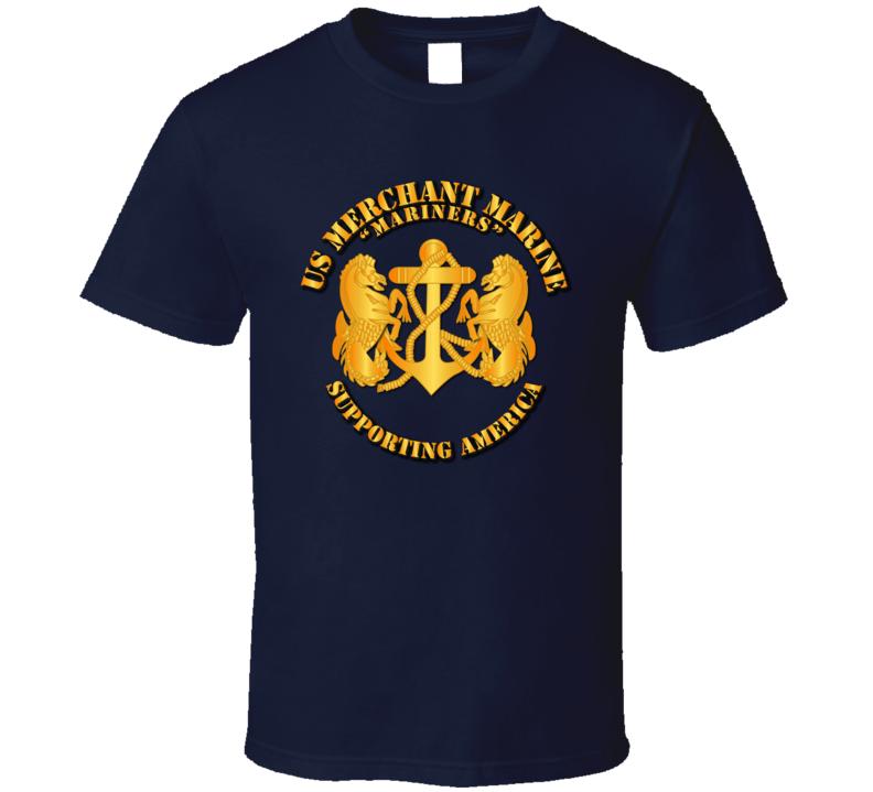 USMM - Supporting America T Shirt