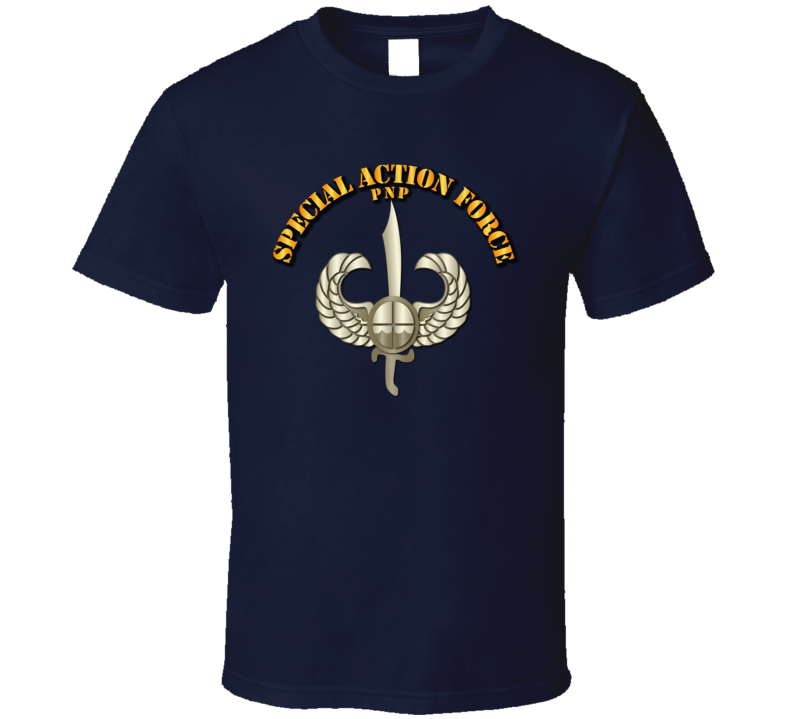 Philippines - Special Action Force Badge T Shirt