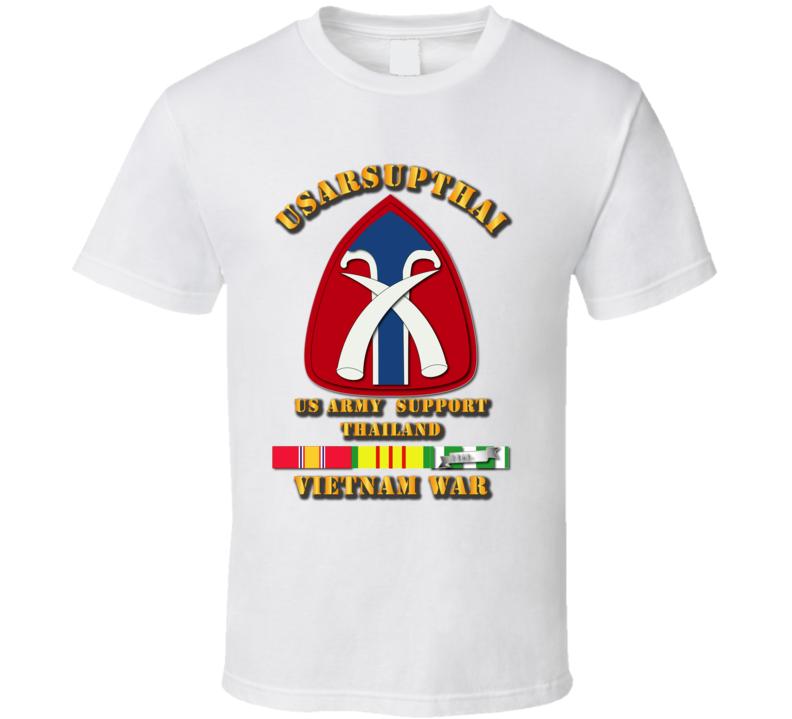 USARSUPTHAI w VN Svc Ribbons T Shirt