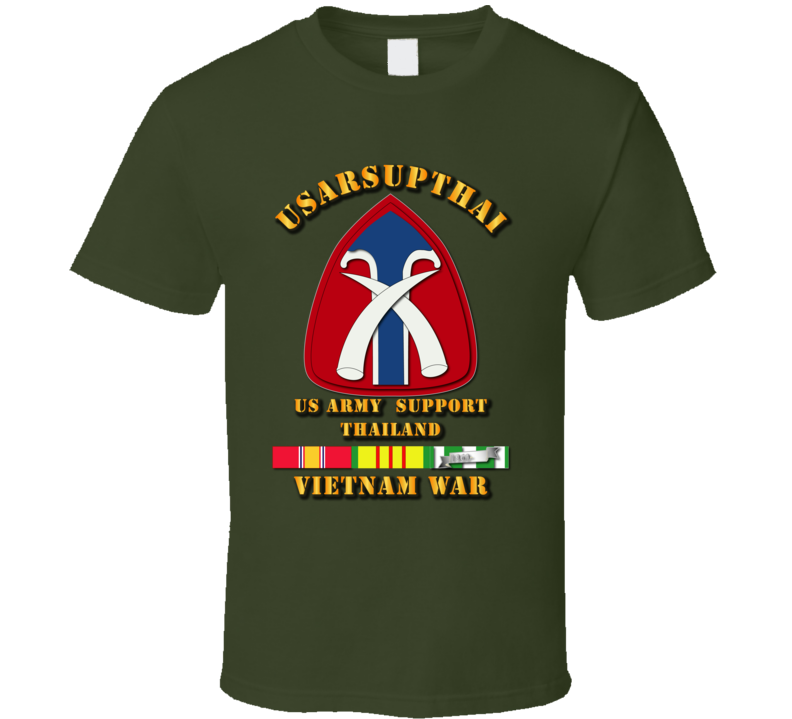 USARSUPTHAI w VN Svc Ribbons T Shirt