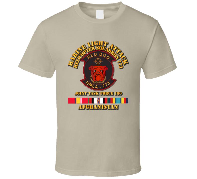 HMLA - 773 w Afghan Svc - JTF 180 T Shirt