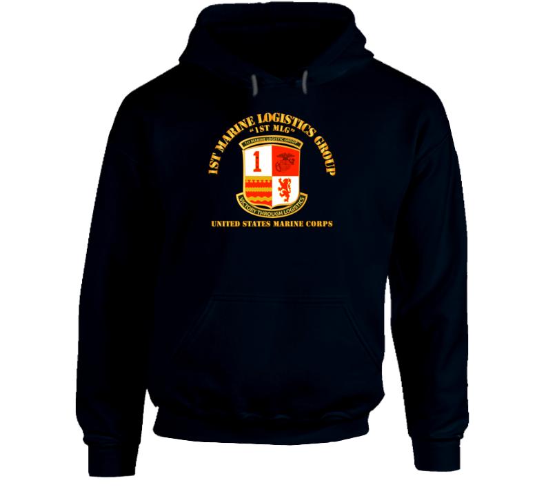 1st Marine Logistics Group Hoodie