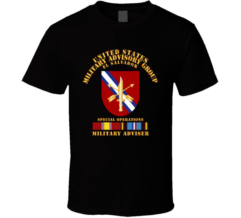 US MILGRP  w Svc - El Salvador T Shirt