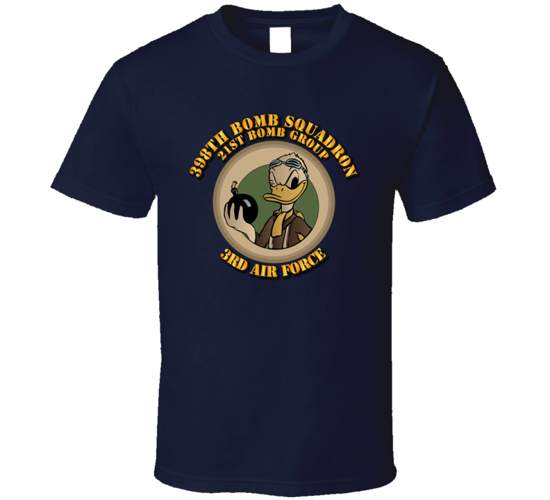 398th Bomb Squadron, 21st Bomb Group, 3rd Af W Txt T Shirt
