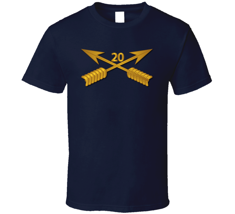 Sof - 20th Sfg Branch Wo Txt T-shirt