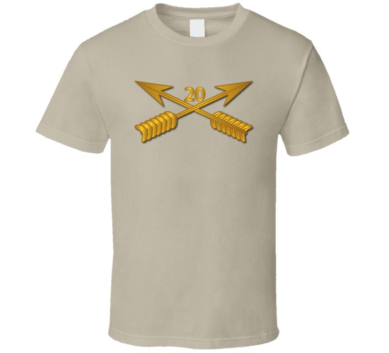 Sof - 20th Sfg Branch Wo Txt T-shirt