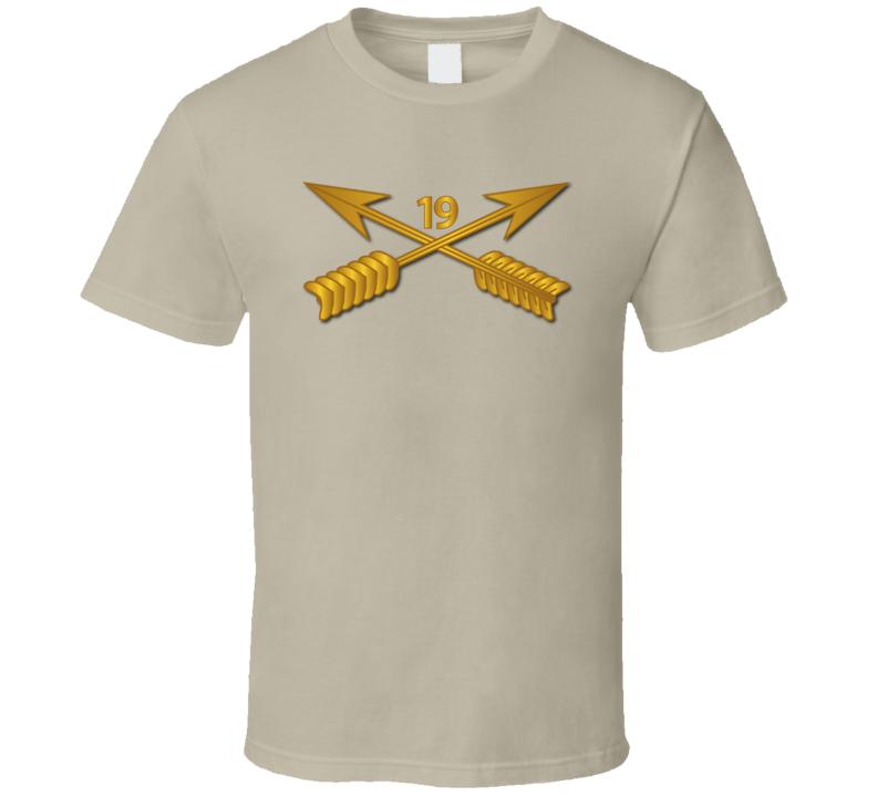 Sof - 19th Sfg Branch Wo Txt T-shirt
