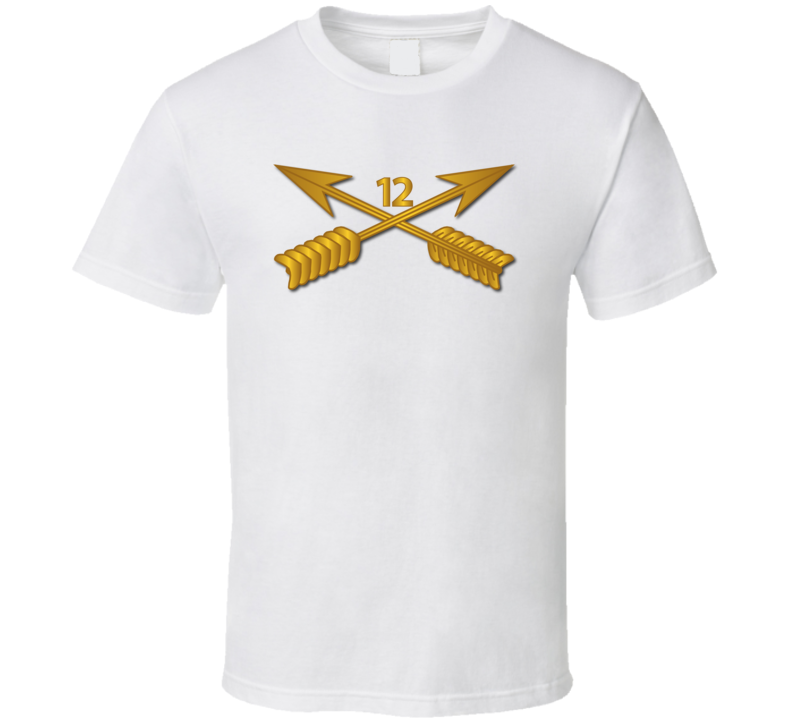 Sof - 12th Sfg Branch Wo Txt T-shirt