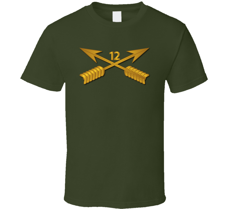 Sof - 12th Sfg Branch Wo Txt T-shirt