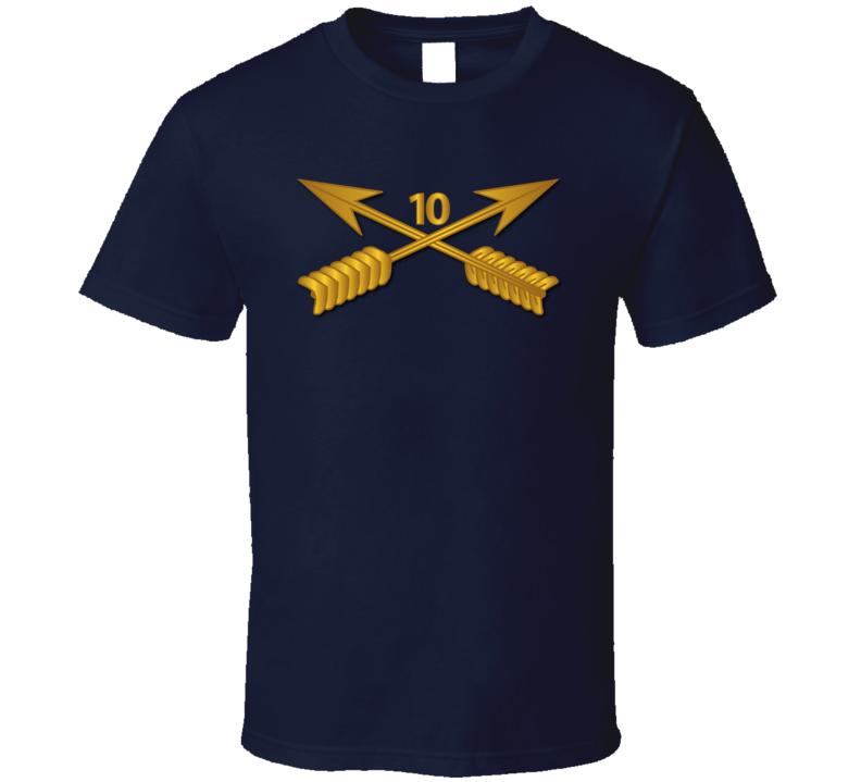 Sof - 10th Sfg Branch Wo Txt T-shirt