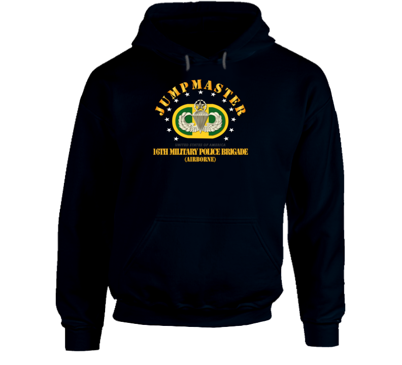 Army - 16th Military Police Brigade - Jumpmaster Hoodie