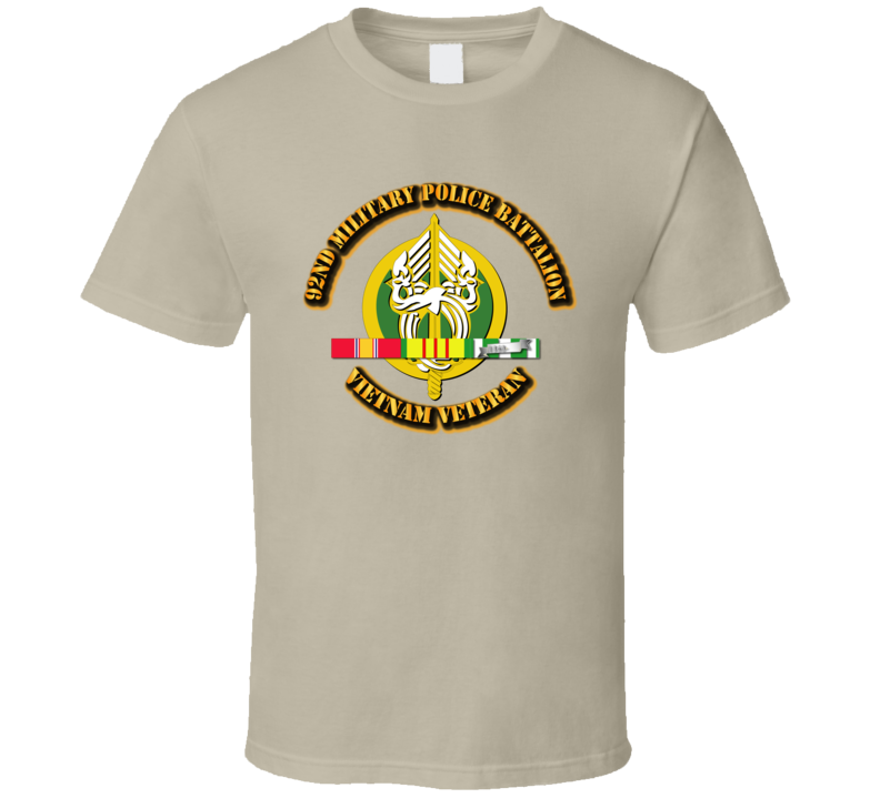 92nd Military Police Battalion W Svc - T-shirt