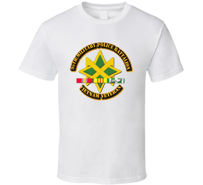 95th Military Police Battalion W Svc - T-shirt