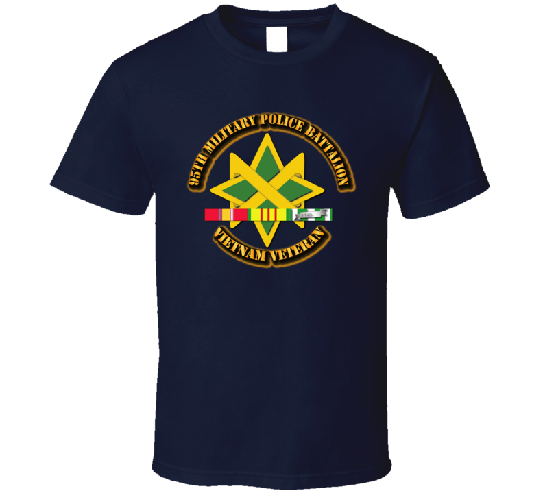 95th Military Police Battalion W Svc - T-shirt