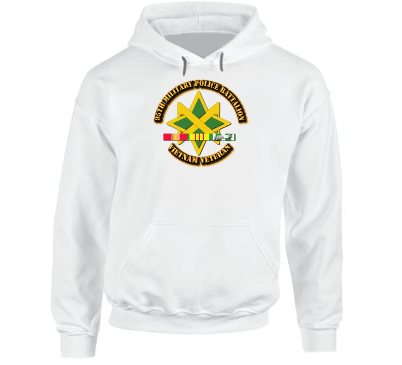 95th Military Police Battalion W Svc - Hoodie