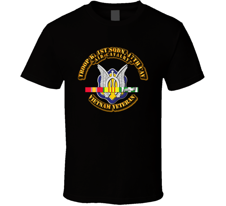 Troop K, 17th Cavalry W Svc - T-shirt