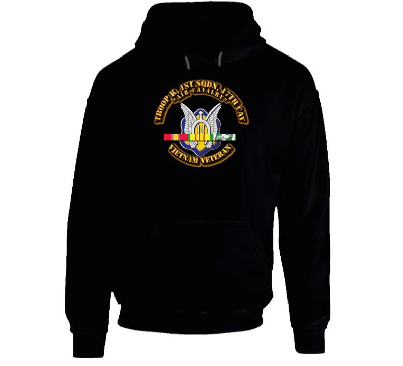 Troop K, 17th Cavalry W Svc - Hoodie