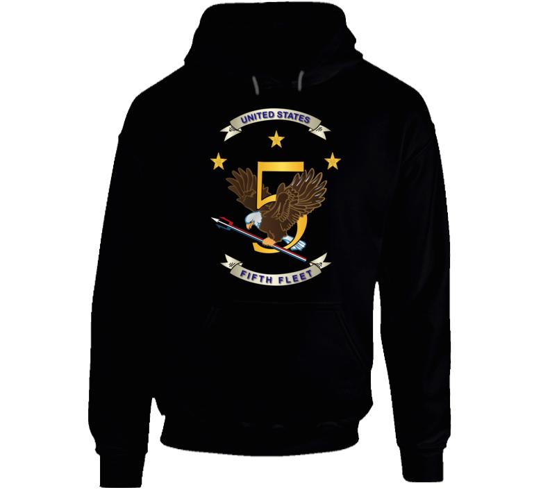 Navy - Fifth Fleet Wo Txt Wo Backgrnd Hoodie