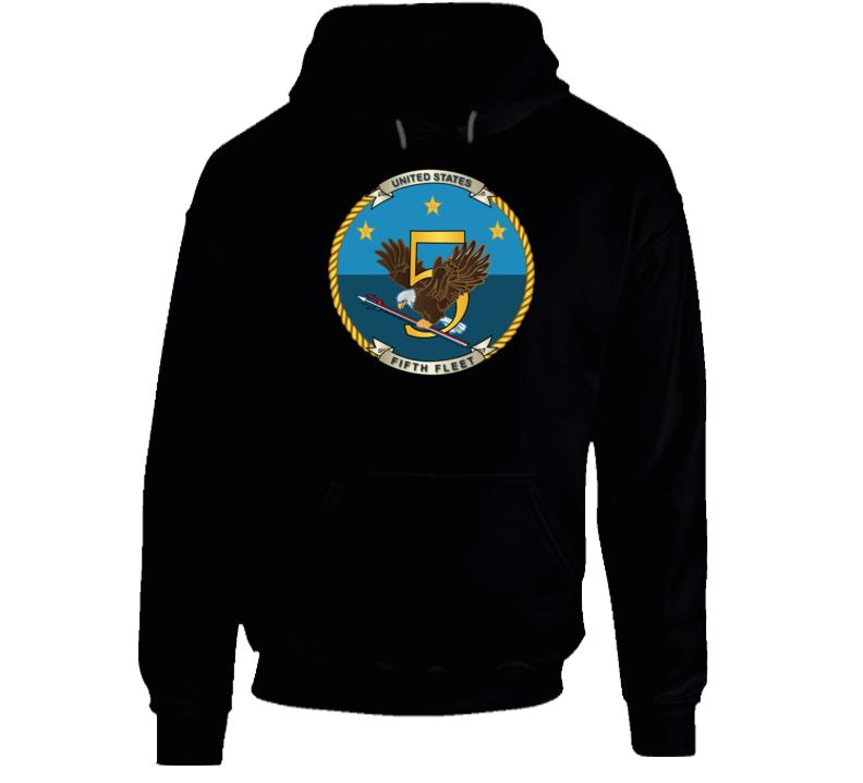 Navy - Fifth Fleet Wo Txt Hoodie