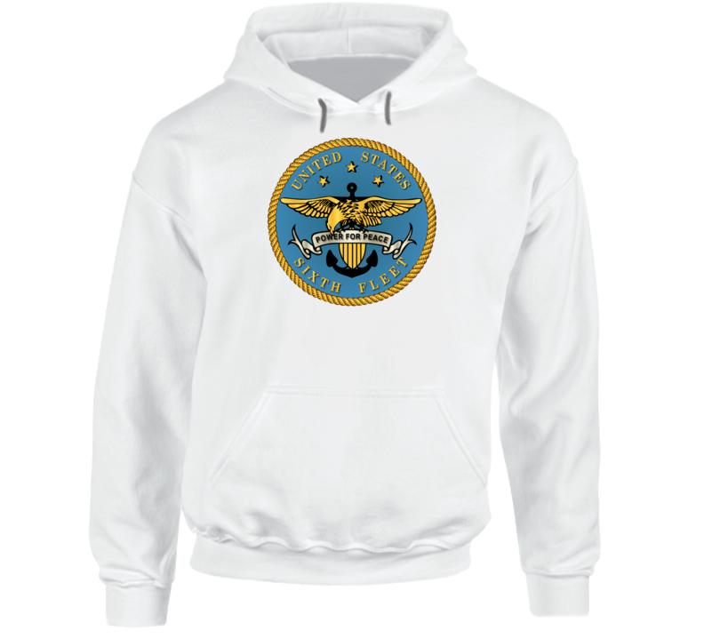 Navy - Sixth Fleet Wo Txt Hoodie
