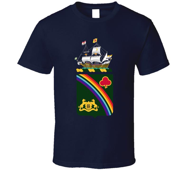 Army - Coa - 165th Infantry Regiment Wo Txt T Shirt