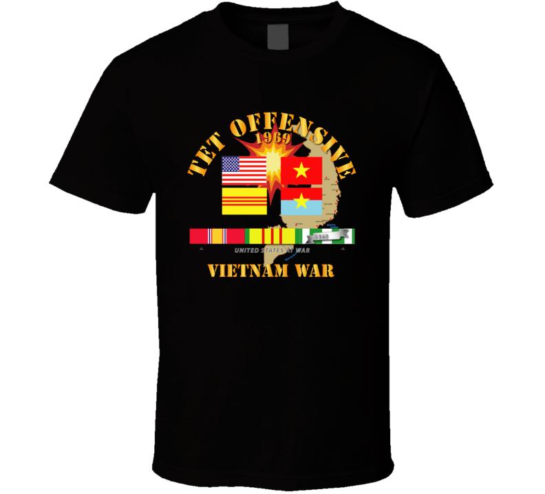 Army - 1969 Tet Offensive T Shirt