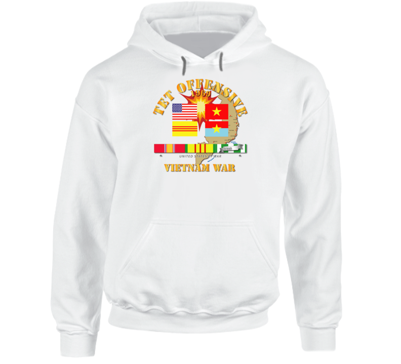 Army - 1969 Tet Offensive Hoodie