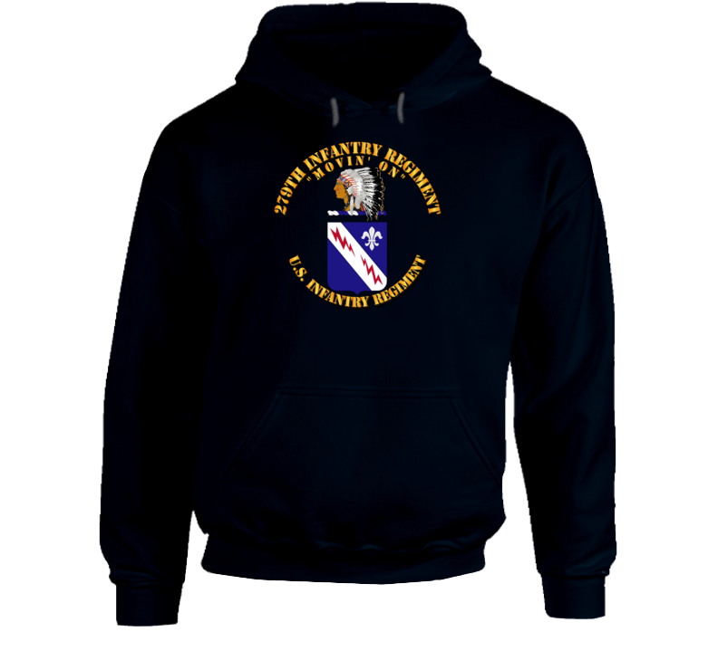 Army - 279th Infantry Regiment - Coa - Hoodie