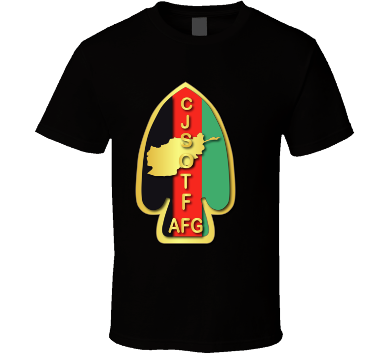 Army - Sof - Ssi - Combined Joint Special Operations Task Force - Afghanistan Wo Txt - T Shirt