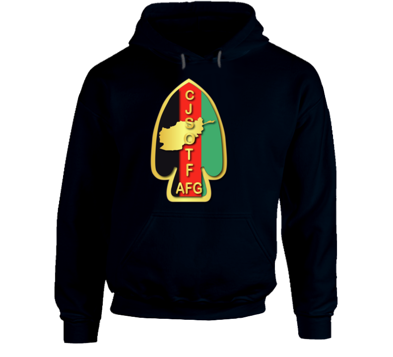 Army - Sof - Ssi - Combined Joint Special Operations Task Force - Afghanistan Wo Txt - Hoodie