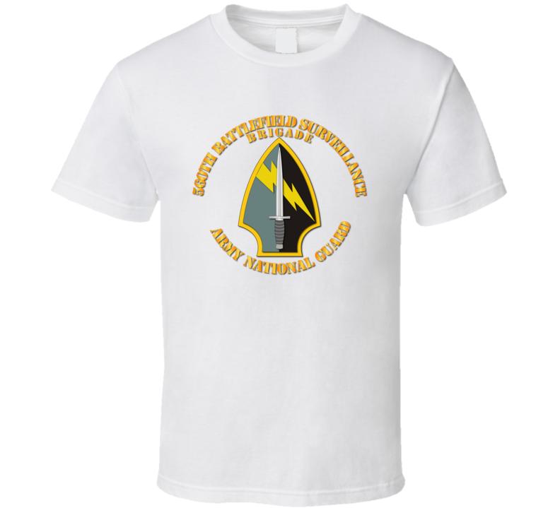 Army - 560th Battlefield Surveillance Brigade - Ssi T-shirt