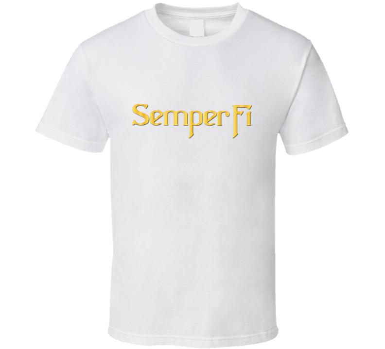 Usmc - Semper Fi - T-shirt