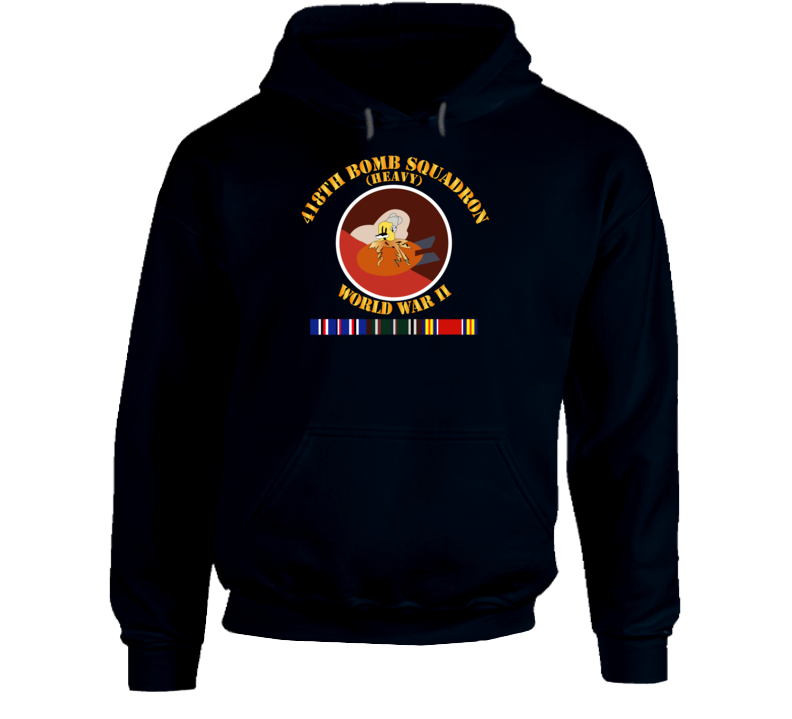 Aac - 418th Bomb Squadron Wwii W Svc Hoodie