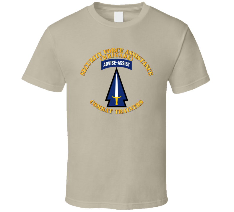 Army - 1st Security Force Assistance Bde - Ssi T-shirt