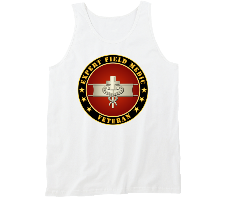 Army - Expert Field Medic Veteran Tanktop