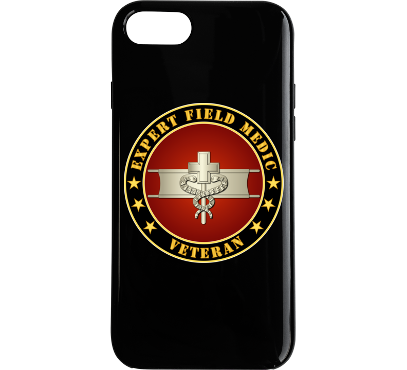 Army - Expert Field Medic Veteran Phone Case