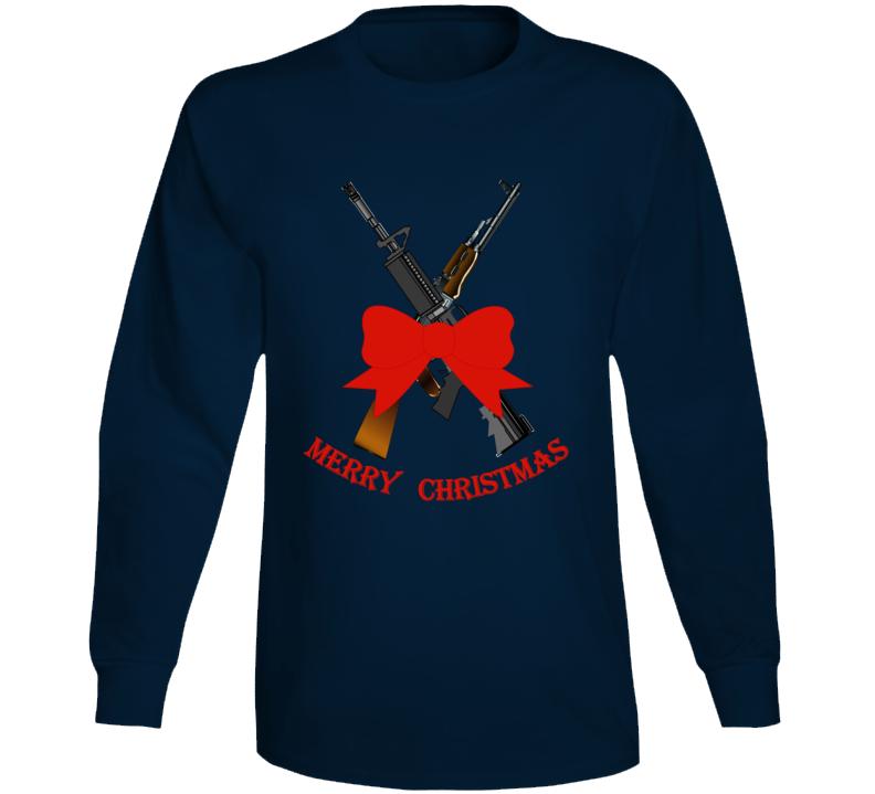 Weapons - Christmas Rifles - M4 - Ak Long Sleeve