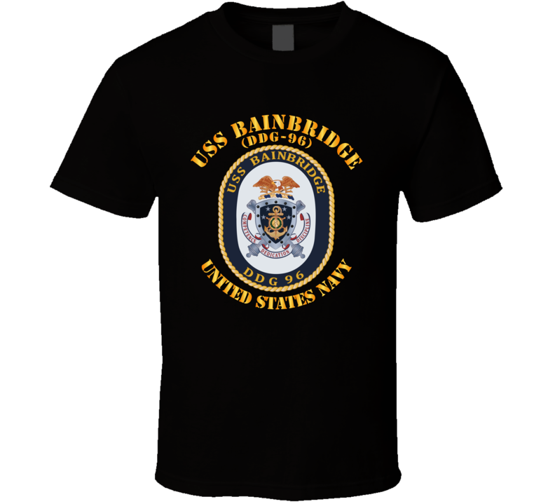 Navy - Uss Bainbridge (ddg-96) T Shirt