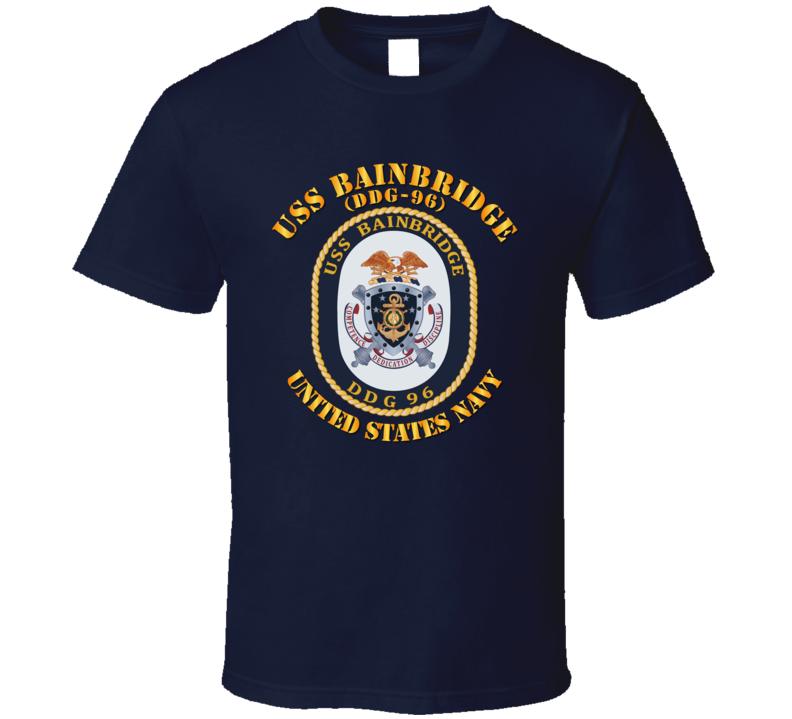 Navy - Uss Bainbridge (ddg-96) T Shirt